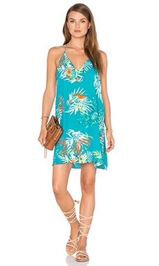 Three Eighty Two Tanner Slip Mini Dress in Paradiso
