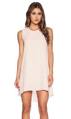 Three Eighty Two Haider Tank Dress in Blush