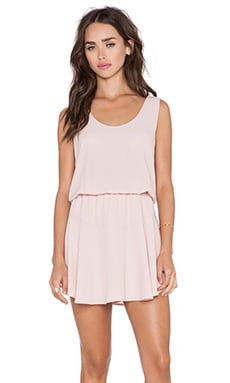 LILA RUFFLE DRESS