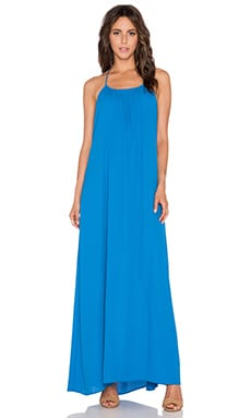 Three Eighty Two Kallie Halter Maxi Dress in Ocean