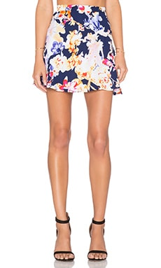 Three Eighty Two Decker Mini Skirt in Lanai