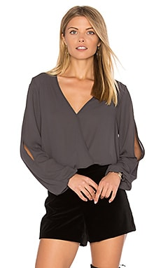 Amber Surplice Top