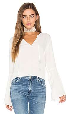 Jayce Blouse in Ivory