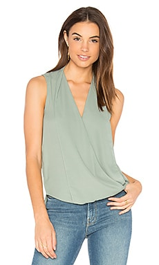 Monroe Surplice Top in Palm