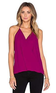 Three Eighty Two Em Halter Top in Orchid