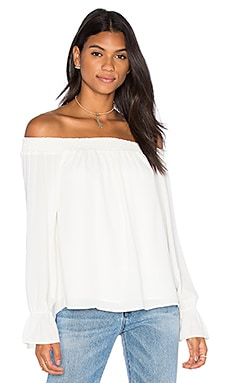 Evangeline Off Shoulder Long Sleeve Top