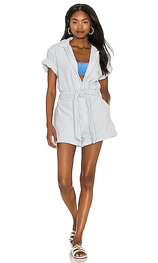 Belted Romper TERRY $265