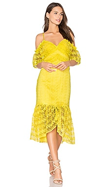 Starry Eyed Dress in Buttercup Yellow