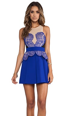 Heart You Dress in Nude/Black/Cobalt Blue