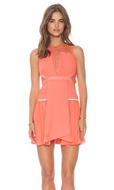Three Floor Je T'aime Dress in Nectarine