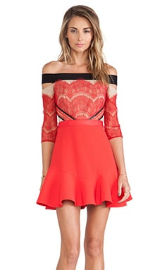 x REVOLVE Kloss Up Dress in Red