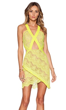 Three Floor Summer In The City Dress in Lemon