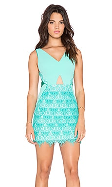 Three Floor Daria Mini Dress in Mint