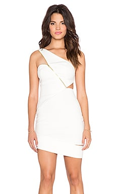 Three Floor Glacier Mini Dress in White