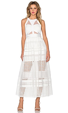 Three Floor Zittel Maxi Dress in Bright White