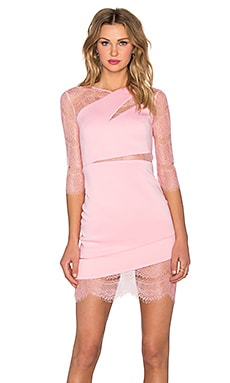 Three Floor Aura Mini Dress in Flamingo Pink