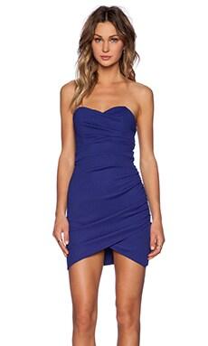 TFNC London Thai Mini Dress in Blue