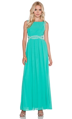 TFNC London Malaga Maxi Dress in Turquoise