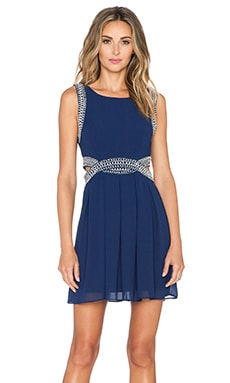 TFNC London Malaga Dress in Navy