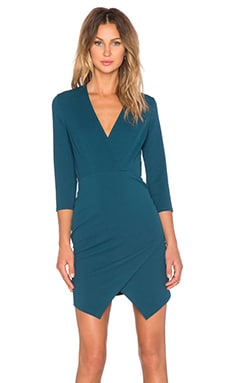 Alita Dress en Bleu canard