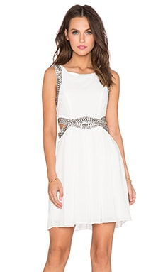 TFNC London Malaga Dress in Cream