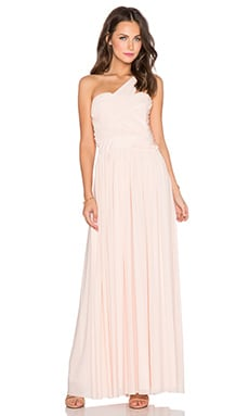 TFNC London Ingrid Maxi Dress in Baby Pink