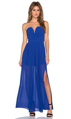 TFNC London Nelle Maxi Dress in Blue