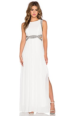 TFNC London Malaga Maxi Dress in Cream