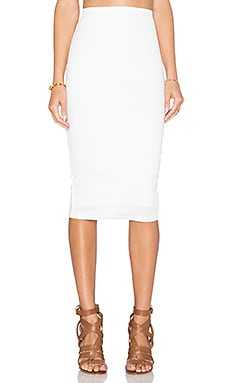 TFNC London Rika Skirt in White