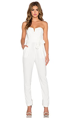 TFNC London Thalia Jumpsuit in White