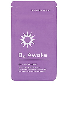 REMIENDO ADICIONAL B12 AWAKE The Good Patch $12 MÁS VENDIDO
