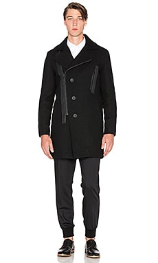 Tiger of Sweden Shoreline Coat in Black
