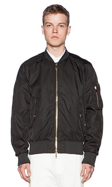 Tiger of Sweden Tray Bomber Jacket in Black