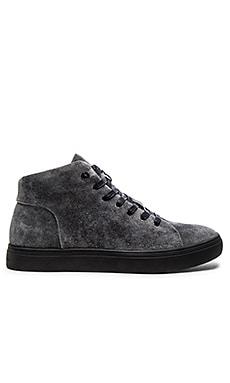 Tiger of Sweden Ygnve 15 Sneaker in Grey Suede