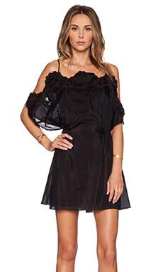 Thakoon Crochet Border Dress in Black