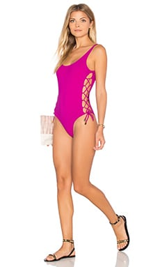 Thapelo Laura Swimsuit in Violine