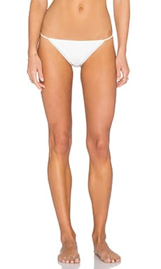 Thapelo Maeva Bikini Bottom in White