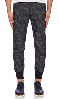 The New Standard Edition Esteban Chino Jogger in Heather Navy