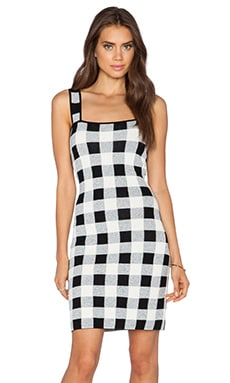 Theory Sharneel Dress in Black & White