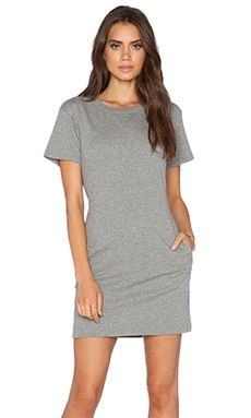 Theory Zissia Dress in Heather Grey