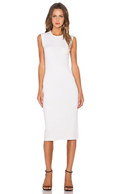Theory Koldeen Dress in Ice White