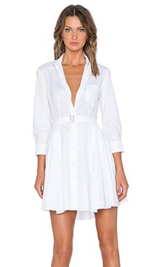 Theory Jalyis Dress in White