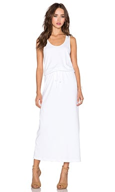 Theory Ghimi Maxi Dress in White