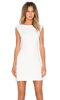 Theory Mystsra Dress in White