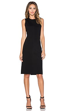 Theory Ekundayo Dress in Black