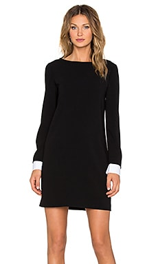 Theory Amszia Dress in Black
