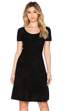 Theory Codris Dress in Black