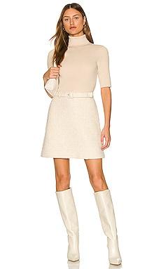 Knit Combo Dress Theory $475 NEW