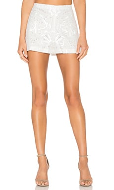 Micro Lace Short in White