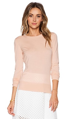 Theory Kralla Sweater in Cameo
